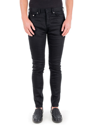 neil barrett woven trousers black 430-00252