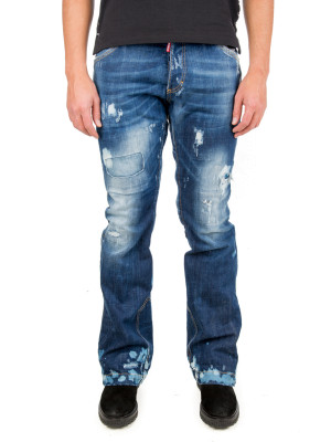Dsquared2 pant 5 pocket blue 430-00476