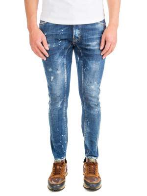 Dsquared2 tidy biker jean blue 430-00504
