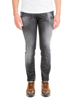 Dsquared2 long clement jean black 430-00507