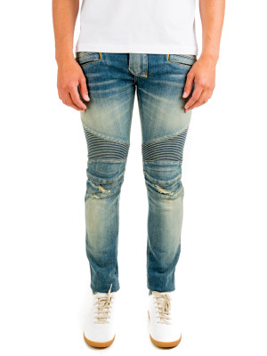 Balmain biker stretch blue 430-00527