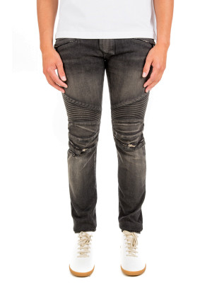 Balmain biker stretch black 430-00528