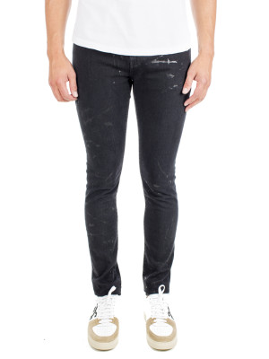 Saint Laurent Paris skinny 5 pk low black 430-00544