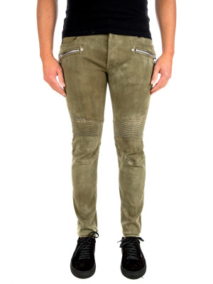 Balmain pants vintage destroy green 430-00571