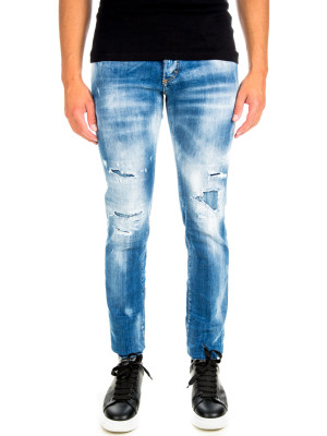 Dsquared2 bleached slim jean