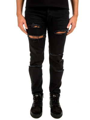 Balmain tapered used jeans 430-00659