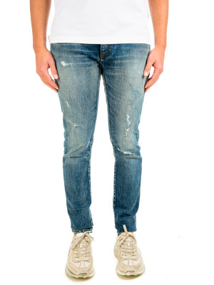 Saint Laurent denim skinny low waist use 430-00693
