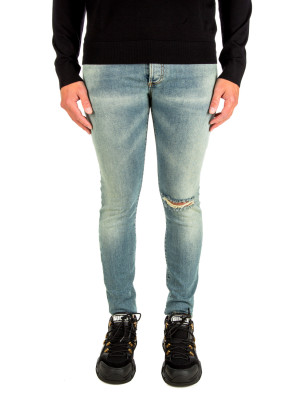 Balmain destroyed skinny jeans 430-00721