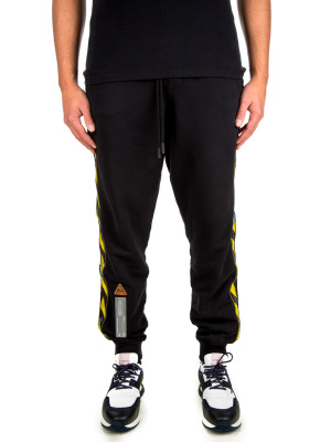Off White sweatpant side tape black 431-00146