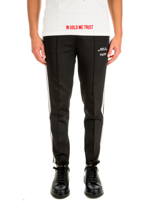 IN GOLD WE TRUST  logo trackpants 431-00189