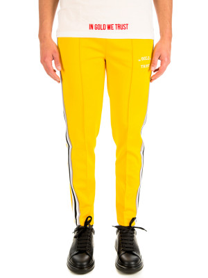 IN GOLD WE TRUST  logo trackpants 431-00190