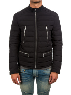 neil barrett woven jacket black