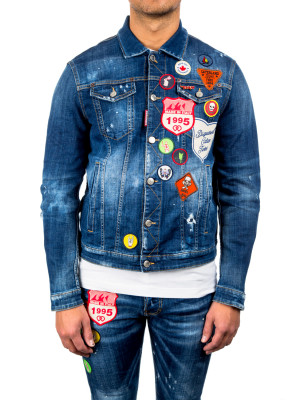 Dsquared2 dan jean jacket blue 440-00512