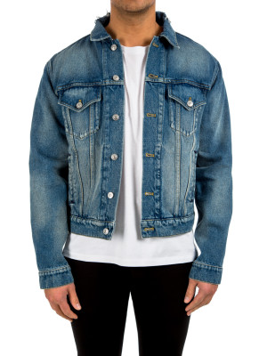 Balenciaga jacket stone denim blue 440-00535