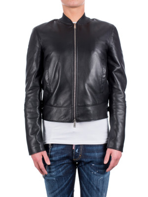 Leather Biker black 441-00046