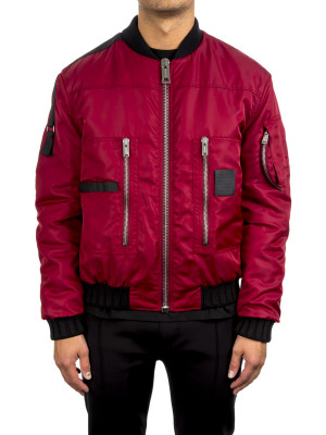 PUFFY PILOT BOMBER crimson 442-00093