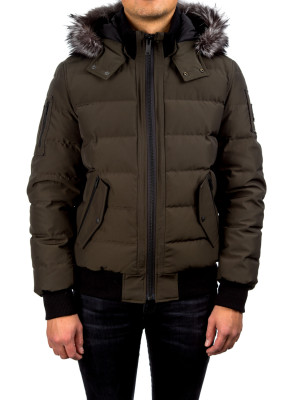 moose knuckles  scoudouc bomber green 442-00101