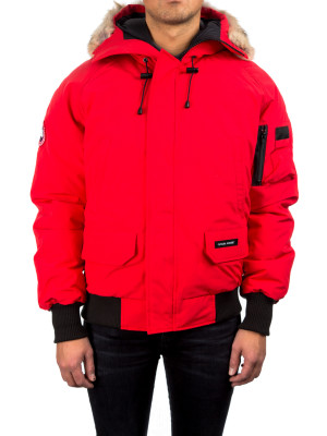 Canada Goose chilliwack bomber red 442-00102