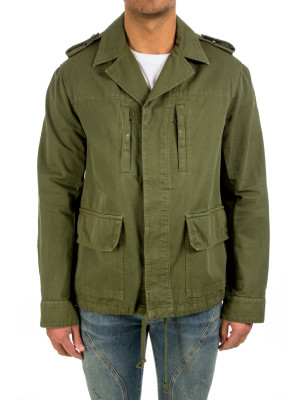 faith connexion  fitted parka green 443-00038