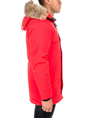 7c57a6f84cc Canada Goose Canada Goose chateau jacket red