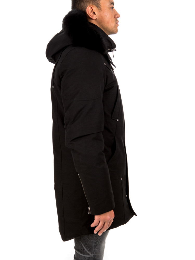 moose knuckles  stirling parka moose knuckles   STIRLING PARKAzwart - www.credomen.com - Credomen