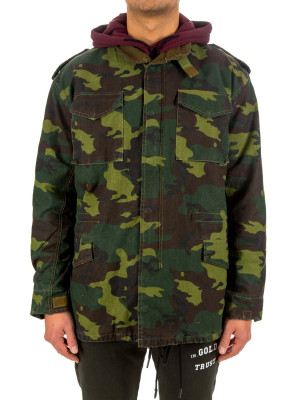 IN GOLD WE TRUST camo parka 443-00094