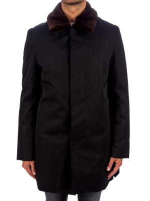 Yves Salomon  coat gabardine 445-00025