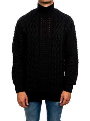 Pull Col Montant black 451-00014