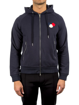 Moncler maglia cardigan blue 452-00105