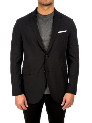 neil barrett cardigan constr black 452-00109