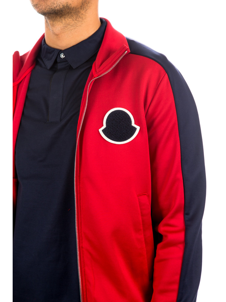 Moncler maglia tricot cardigan Moncler  Maglia Tricot Cardiganrood - www.credomen.com - Credomen