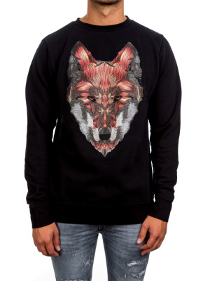Marcelo Burlon got crewneck black 454-00244