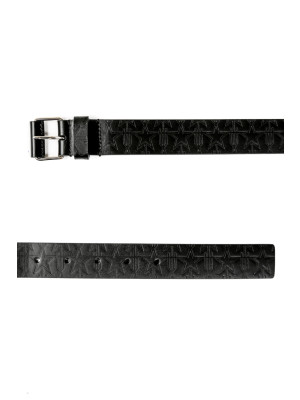 Givenchy belt roll buckle black 463-00082