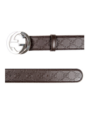 BELT GUCCI SIGNATURE brown 463-00109