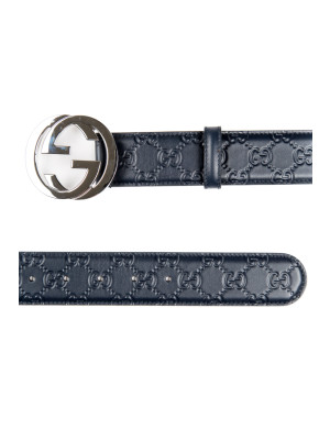 BELT GUCCI SIGNATURE blue 463-00110