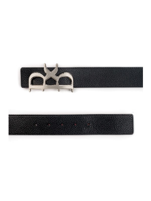 Yves Belt Silver black 463-00164