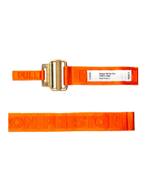 heron preston  tape belt 4cm 463-00283