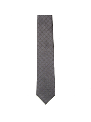 TIE FENDIN C.O.100% SILK grey 464-00110