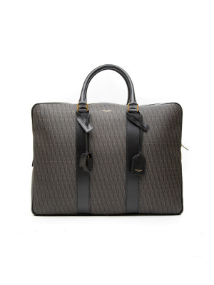 YSL Medium Briefcase black 465-00024