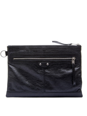 Balenciaga documents case black 465-00075