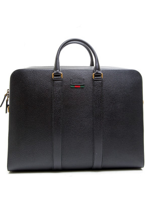 Gucci briefcase pigprint black 465-00080