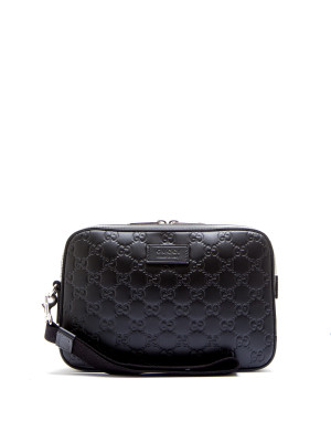 Gucci man's bag gucci sign black 465-00101
