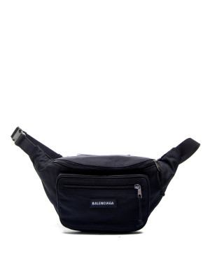Balenciaga explorer belt pack black 465-00121