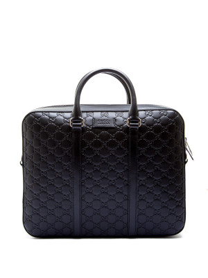 Gucci briefcase black 465-00128
