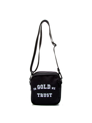 IN GOLD WE TRUST logo bumbag 465-00165