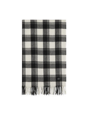 Saint Laurent Paris scarf st madras lane ws/wo multi 466-00080