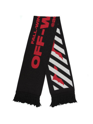 Off White bats scarf 466-00117