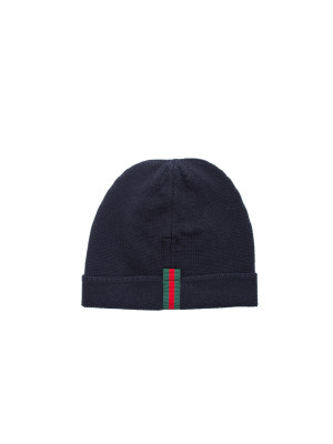 Gucci hat knit blue 467-00080