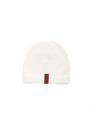 Gucci hat knit beige 467-00082