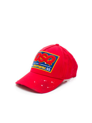 Dsquared2 baseball cap red 468-00110